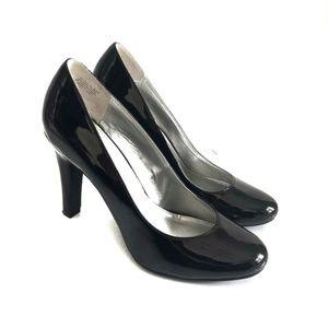Bandolino Black Patent Heels Pumps Size 8.5